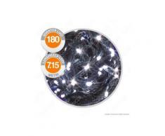 Catena 180 Luci LED Reflex Bianco Freddo a Batterie con Controller Memory - per Interno e Esterno