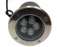 Faretto LED 5W carrabile 150 da incasso da esterno segnapassi faretti led