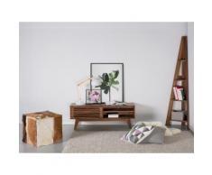 Scaffale in legno marrone color noce - MOBILE SOLO