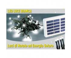 Luci di Natale esterno led energia solare batteria lunga durata pannello 100 led albero balcone