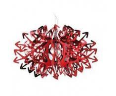 SLAMP lampada a sospensione DEVIL (Rossa - Steelflex®)