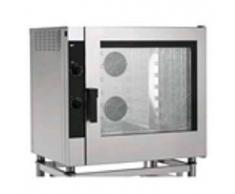 Forniture ristorazione - Forno a gas a convezione per gastronomia e pasticceria - mod. emg7 - controllo elettromeccanico - senza umidificatore e a una velocita' - alimentazione monofase 230/1/50 - potenza kw 16 + 0,6 - capacita': 7 x (gn 1/1 ; 60x