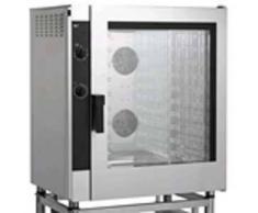 Forniture ristorazione - Forno elettrico a convezione per gastronomia e pasticceria - mod. eme10 - controllo elettromeccanico - senza umidificatore e a una velocita' - alimentazione trifase 400/3/50 - potenza kw 12,6 - capacita': 10 x (gn 1/1 ; 60