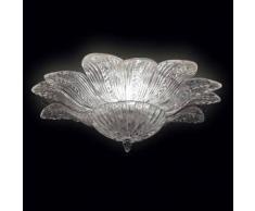 7432515028003Lisa - Plafoniera Sogni di Cristallo Colore : trasparente - Seleziona il numero di Luci : 18 - Dimensioni : Diametro 160 x Altezza 60 cm - In Vetro di Murano