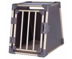 Trasportino in alluminio per cani Trixie - S-M: L 50 x P 67 x H 70 cm