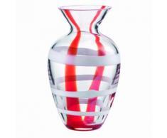 Guzzini Vaso Piccolo Porto Cervo in vetro rosso