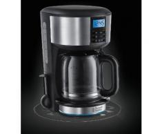 Russell Hobbs 20680 Macchina Caffè Buckingham, 1.25 L - Black and Silver