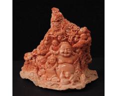 Scultura di Budda in Corallo Rosato (SOTTRATTA DAL NS NEGOZIO)