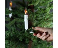Ghirlanda luminosa Candela Bianco caldo 15 LED