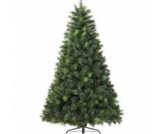 Albero di Natale artificiale Mix Vancouver Alt. 240 cm Verde abete