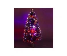Albero di Natale in fibra ottica Barnaby Alt. 90 cm