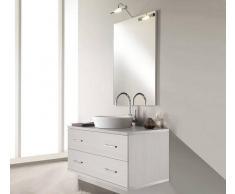 TFT Home Furniture Arredo Bagno Giava 05 Pino Bianco - Cm 90