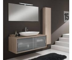 TFT Home Furniture Arredo Bagno Giava 06 Wood Cream - Cm 130