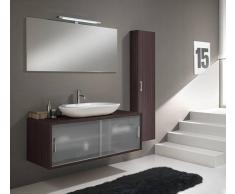 TFT Home Furniture Arredo Bagno Giava 06 Wengé - Cm 130