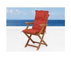 Cuscino da esterno - Per sedia Britannia - Terracotta