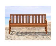 Panchina da giardino - Legno massiccio - 180cm - TOSCANA