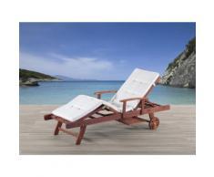 Cuscino da esterno - Per le chaise-longue - Beige