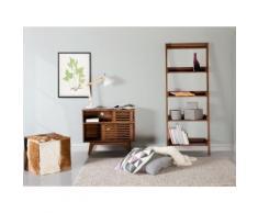 Mobile TV da soggiorno in legno marrone - CLEVELAND