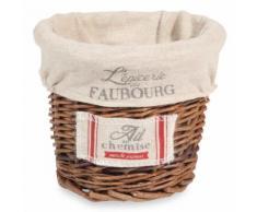 Cestino porta aglio in vimini FAUBOURG