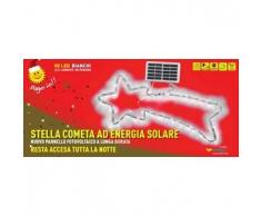 Stella cometa led energia solare esterno albero Natale 50 led Senza scatola
