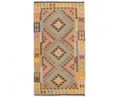 Tappeto Kilim Afghan Old style 104x195 Tappeto Orientale