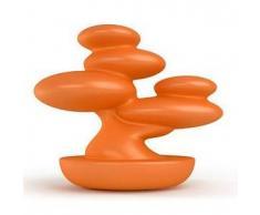 MYYOUR lampada da tavolo per esterni BONSAI (Arancio da esterni - Polietilene)