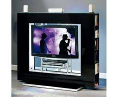MUNARI parete attrezzata per TV NEXT05NE (Nero - Legno/Cristallo)