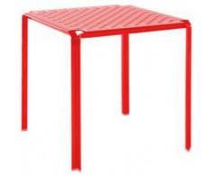 KARTELL tavolo AMI AMI (Rosso lucido - Policarbonato colorato in massa)