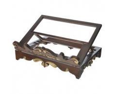 Leggio da tavolo legno stile settecentesco 40x30 cm