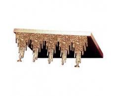Leggio da mensa ottone fuso cascata oro