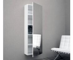 TFT Home Furniture Scarpiera Da Muro Con Specchio Sc501
