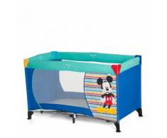 hauck Lettino da viaggio Dream'n Play Mickey Geo Blu