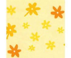 THERALINE Rivestimento per il cuscino allattamento Original Design a fiori giallo (41)