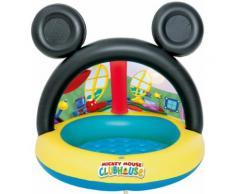 Bestway Piscina Ombreggiata per Bambini Mickey Mouse Club House