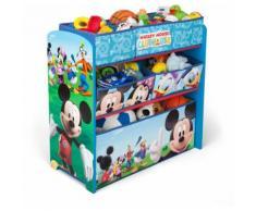 Delta Kids Scaffale Multi-Storage Mickey Mouse