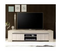 Mobile porta TV Palmira II in essenza rovere Cleaf beige