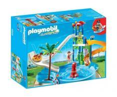 Playmobil 6669 - Torre Degli Scivoli Con Piscina