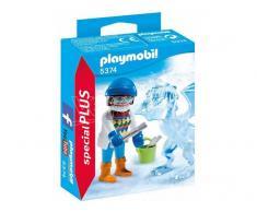 Playmobil 5374 Artista Con Scultura Ghiaccio Special Plus - Costruzioni