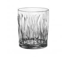 Bormioli Bicchiere Acqua Light Onyx Wind, 6 Pezzi