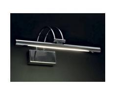 Illuminando Applique il-sirio t5 neon moderno lampada parete specchio quadro metallo -