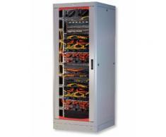 "Armadio Server Rack 19"" 600x1000 27 Unita' Grigio serie Lite Intellinet I-CASE SVR-27LTGY"