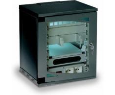 "Armadio Rack 10"" a muro 7 unità Nero Techly Professional I-CASE 7G-BK"