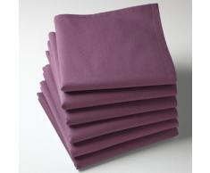 La Redoute - Confezione da 6 tovaglioli tinta unita, puro cotone