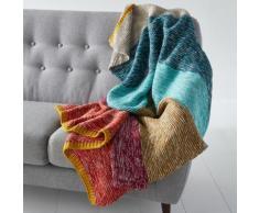 Plaid in maglia a righe Iviza