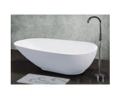 Vasca da bagno centro stanza AQUARELLA - 270 L - Design unico - 174 x 81x 57 cm