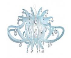 SLAMP lampada a sospensione MEDUSA (Blu/Gel - Cristalflex® - Opalflex®)
