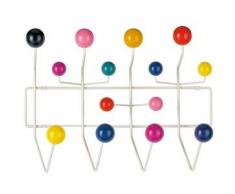 VITRA appendiabiti HANG IT ALL (Multicolore - Acciaio / Legno)