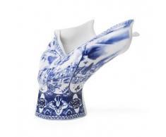 MOOOI vaso BLOW AWAY (Dipinto a mano - Porcellana)