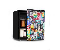 Cool Vibe 48+, frigorifero A+, 48 litri, VividArt Concept in stile manga