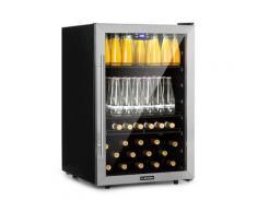 Beersafe 5XL frigorifero per bevande 148L A+ vetro acciaio inox
